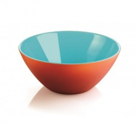 "SALADIER ø20 TURQUOISE/ORANGE ""MY FUSION"""