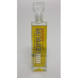 FLACON CARRE HUILE D'OLIVE TRUFFE 25cl