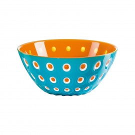 "SALADIER ø25  ""LE MURRINE"" BLEU ORANGE"
