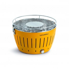 BARBECUE A CHARBON LOTUS GRILL JAUNE
