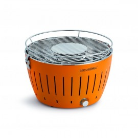 BARBECUE A CHARBON LOTUS GRILL ORANGE