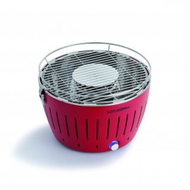 BARBECUE A CHARBON LOTUS GRILL ROUGE
