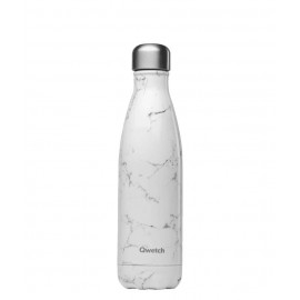 BOUTEILLE QWETCH MARBRE BLANC 500ml