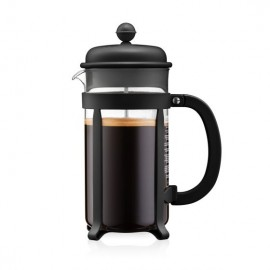 CAFETIERE A PISTON NOIR JAVA 8T 1L