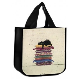SAC CABAS PM NON TISSE CHAT COUSSIN