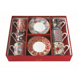 COFFRET 6 TASSES A CAFE 10CL OKINAWA